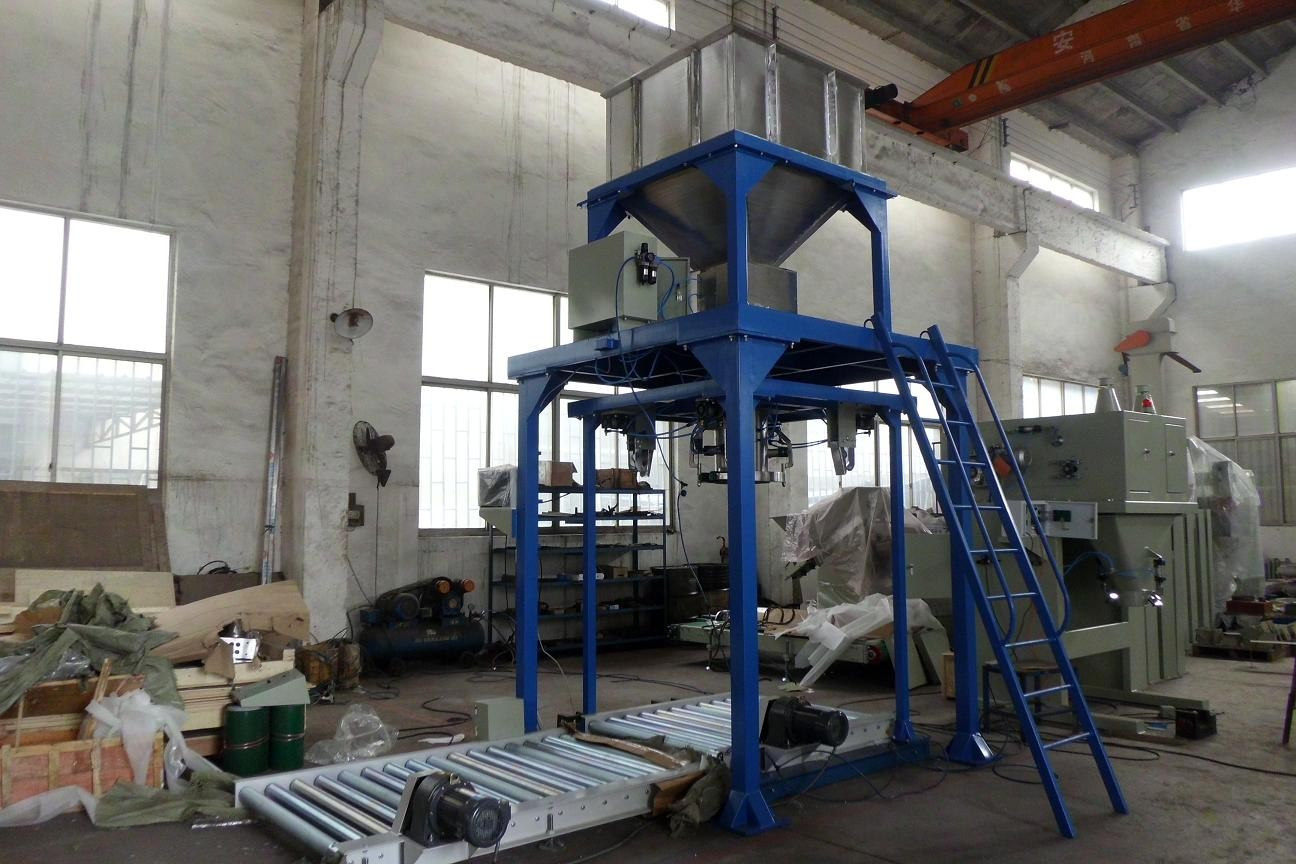 Feed / Wood Pellet / Fertilizer Bagger Big Bag Filling Machine 380v / 220v